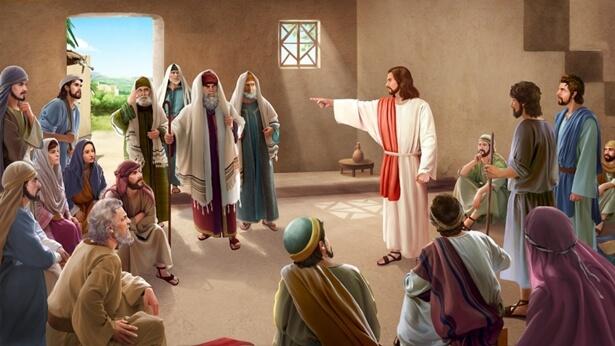 Mustrarea din partea Domnului Isus pentru farisei