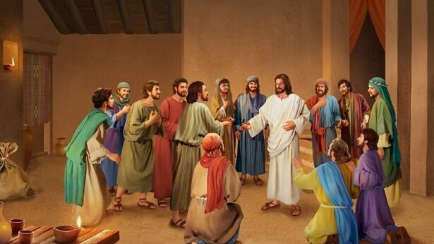 Cuvintele Domnului Isus către discipolii Săi după învierea Sa